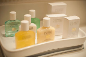 Bath amenities by Gilchrist & Soames