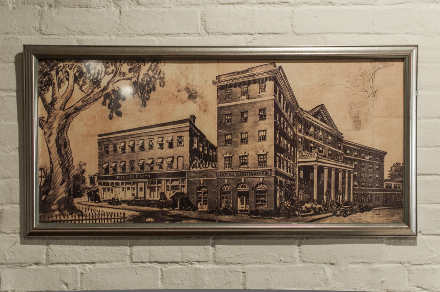 Vintage Hotel Northampton drawing