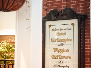 Wiggins Tavern vintage sign