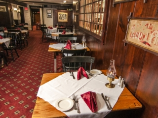 Wiggins Tavern tables
