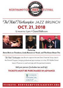 The Hotel Northampton Jazz  Brunch 2018